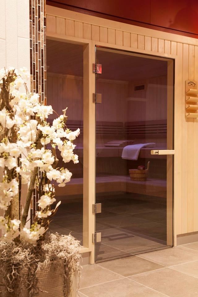 Voor Spa Hamam Du Sahara in Amsterdam heeft the IN connection het nieuwe interieur gerealiseerd. Een impressie van de sauna.